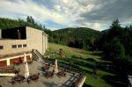 ubytovanie Levoča - Hotel Flóra Horský hotel pri lese. V hoteli / areáli sa nachádza reštaurácia, spoločenská miestnosť (100 osôb), kaviareň, 2x tenisový kurt, tenisová škola, detské ihrisko, požičovňa bicyklov, stolný tenis. V cene...