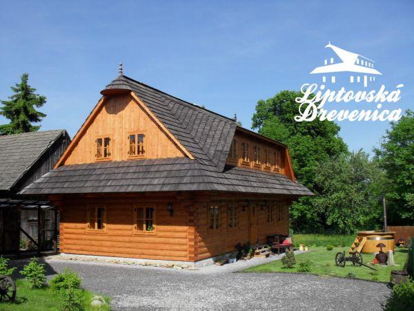 ubytovanie Liptovský Mikuláš - Bodice ♥LIPTOVSKÁ DREVENICA♥  (Chata)