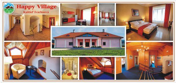 ubytovanie Ivachnova Happy Village Kaštiel Ivachnová (Penzión)